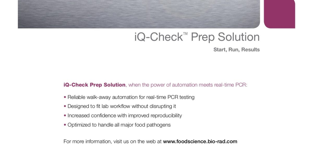 iQ – CHECK™ PREP SOLUTION – BIORAD