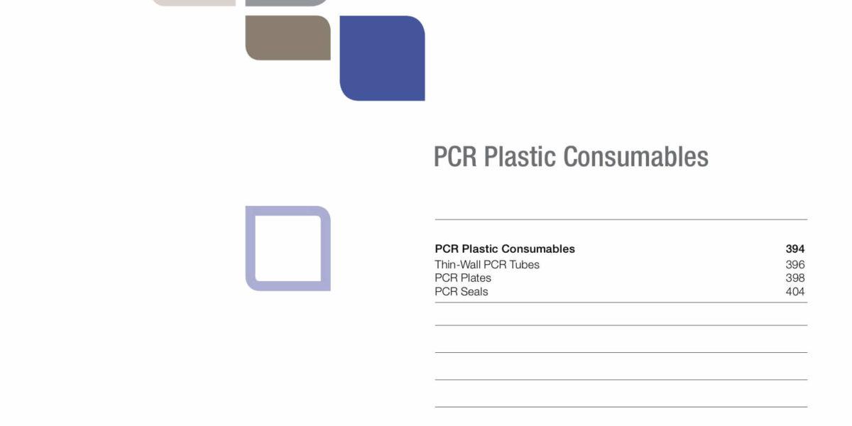 BIO RAD – CONSUMIBLES DE PLÁSTICO PARA PCR