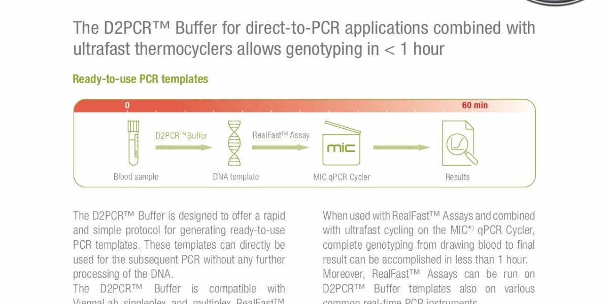 D2PCR™ Buffer