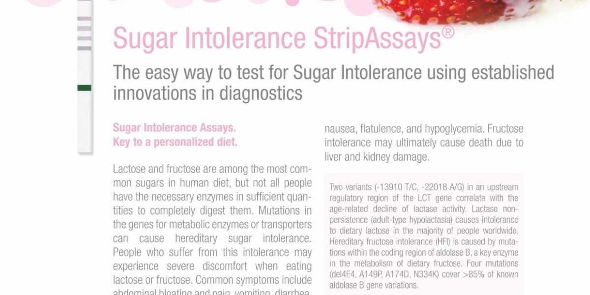 Sugar Intolerance StripAssays®