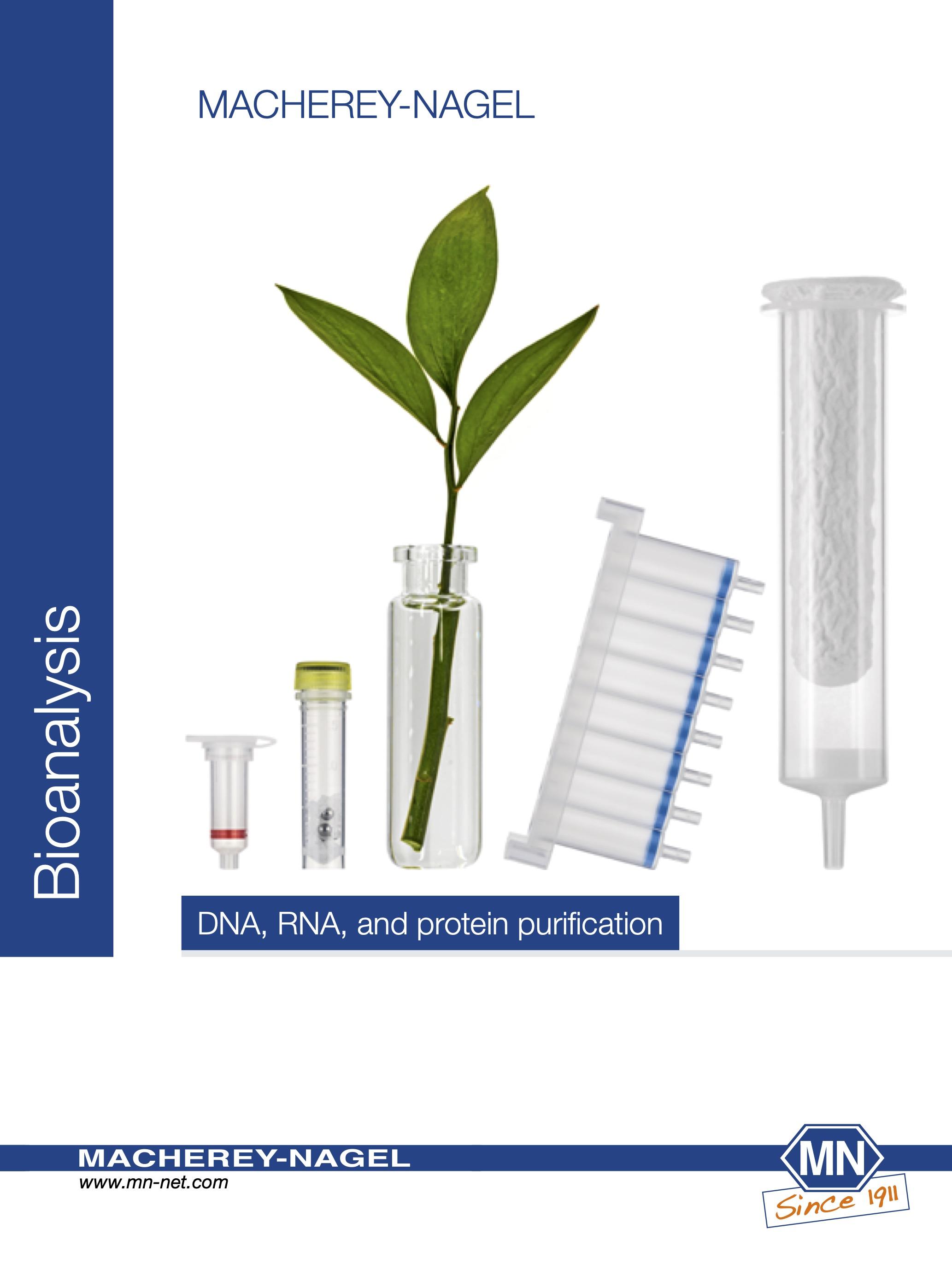 Bioanalysis – Macherey Nagel