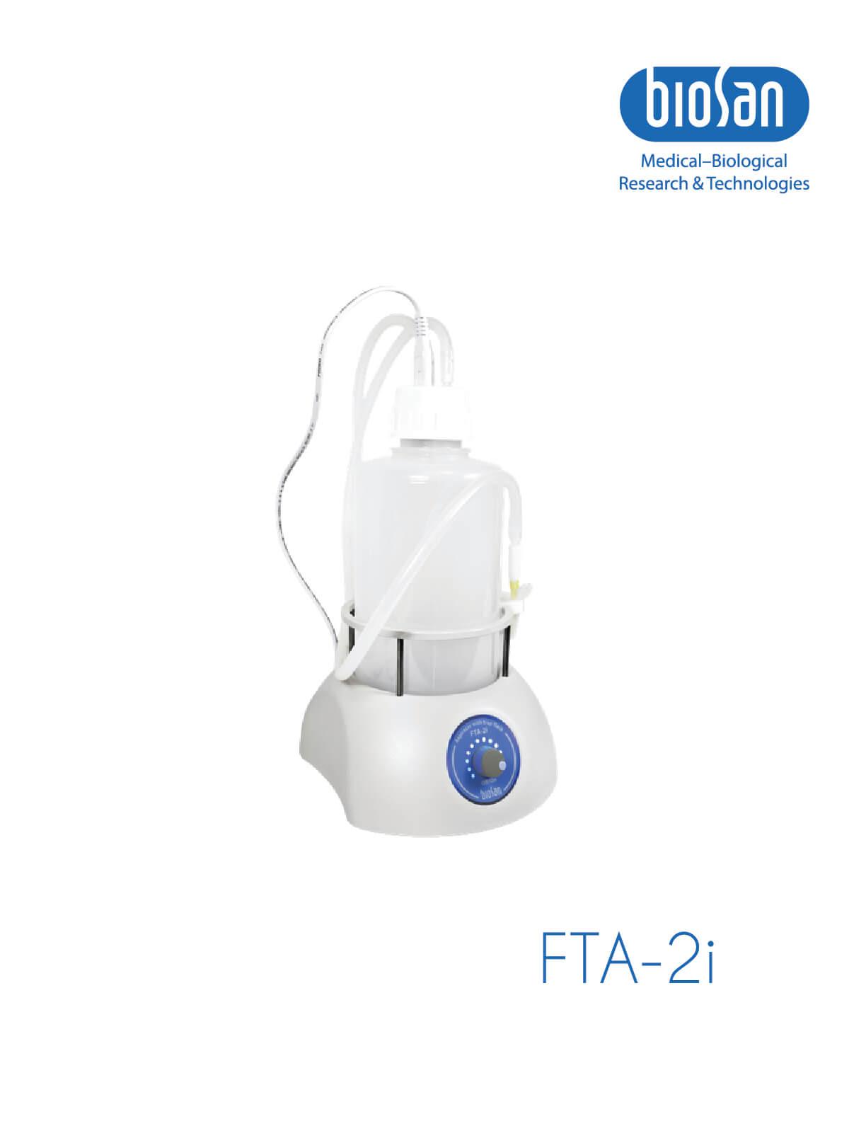 FTA-2i, Aspirator with Trap Flask
