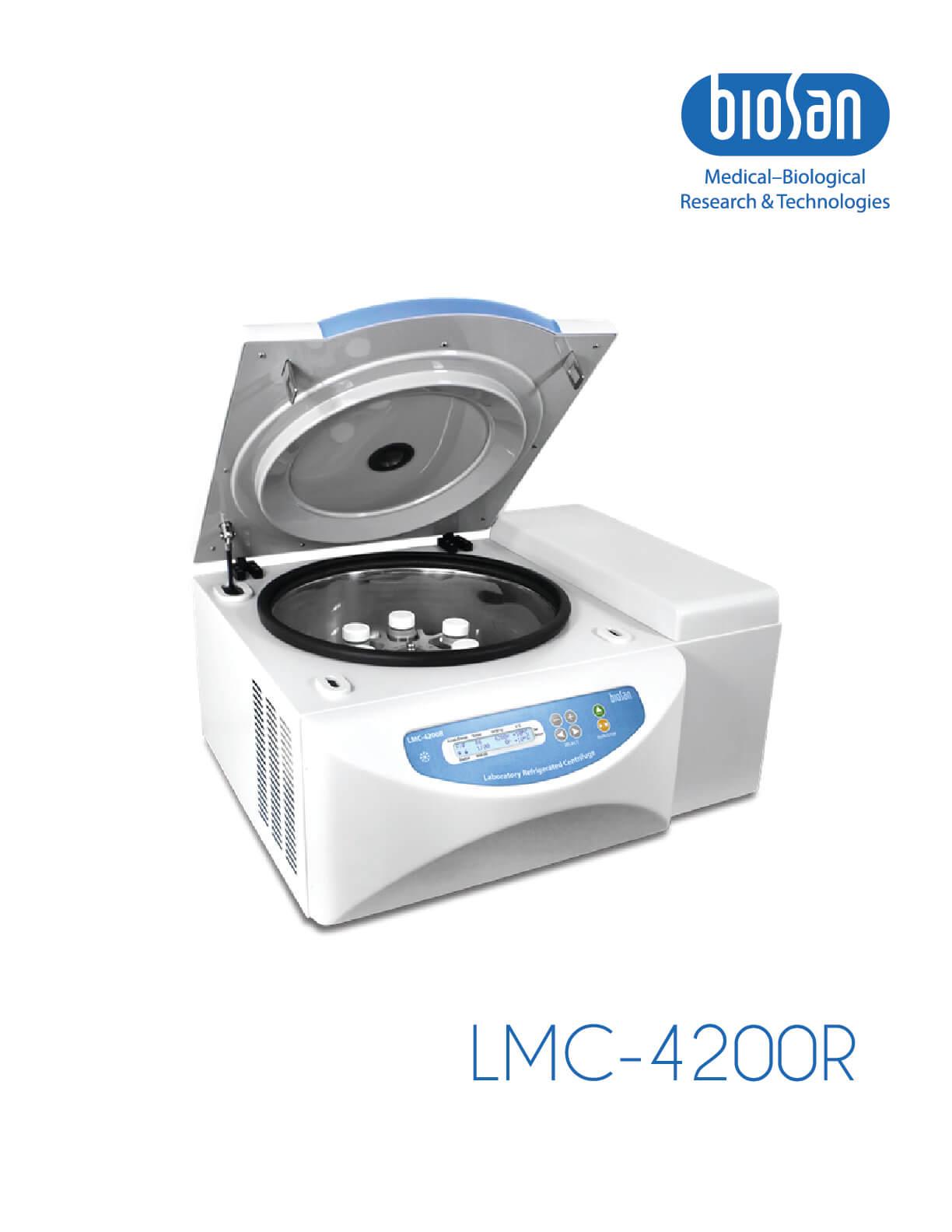 LMC-4200R, Laboratory Refrigerated Centrifuge