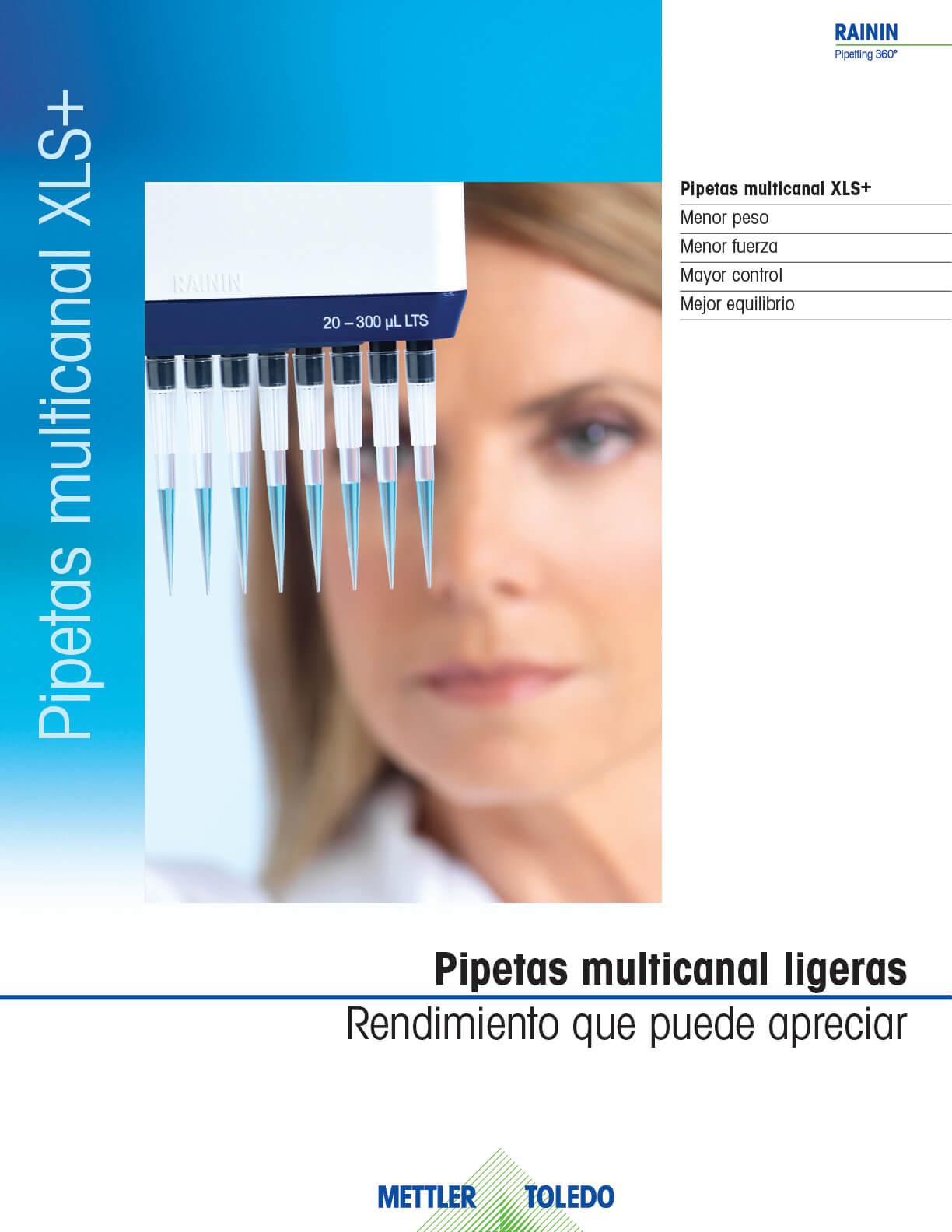 Pipetas Multicanal XLS+
